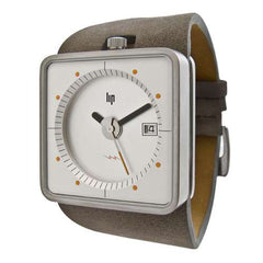 Lip Big TV Watch - White/Tan