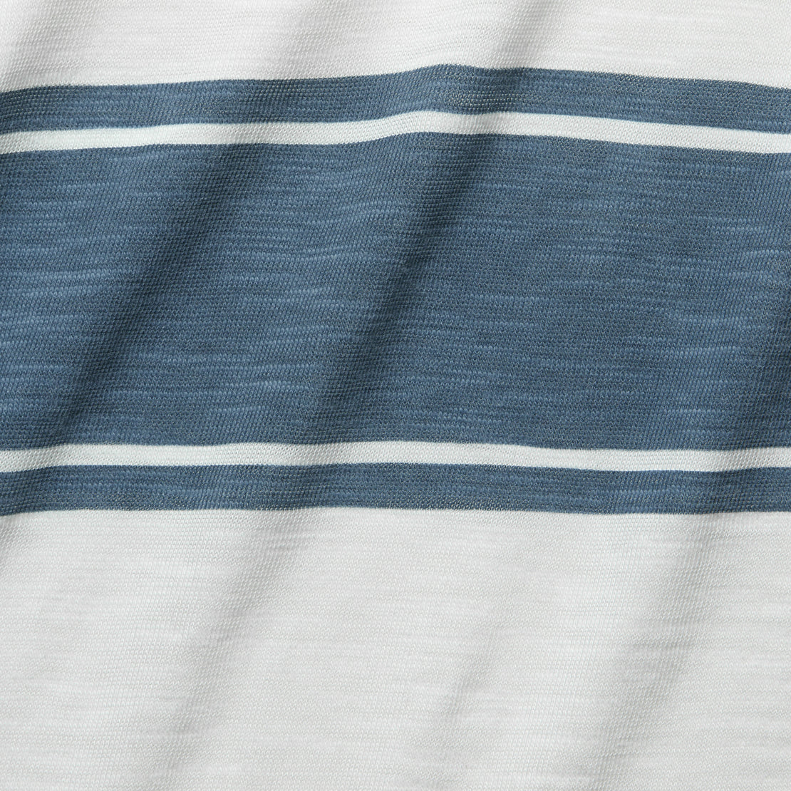 Surf Stripe Tee - White/Blue