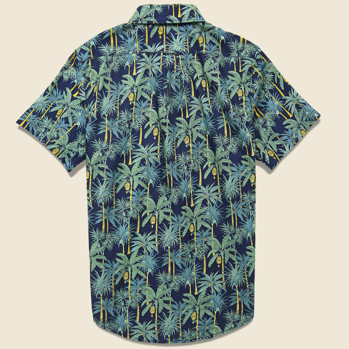 Palm Tree Shirt - Navy
