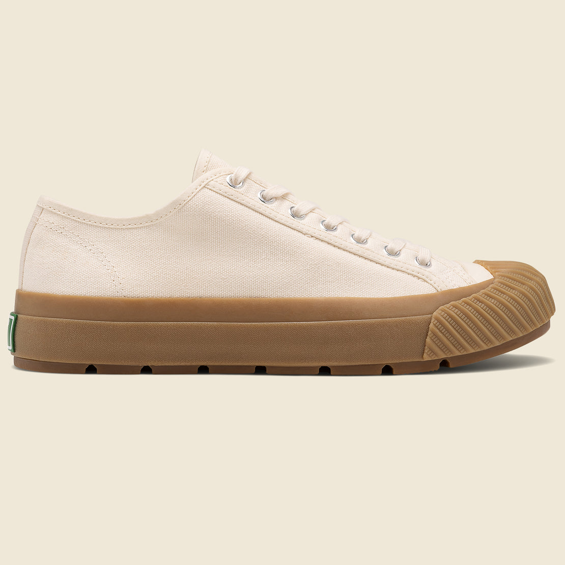 PF Flyers Grounder Lo Top - Natural