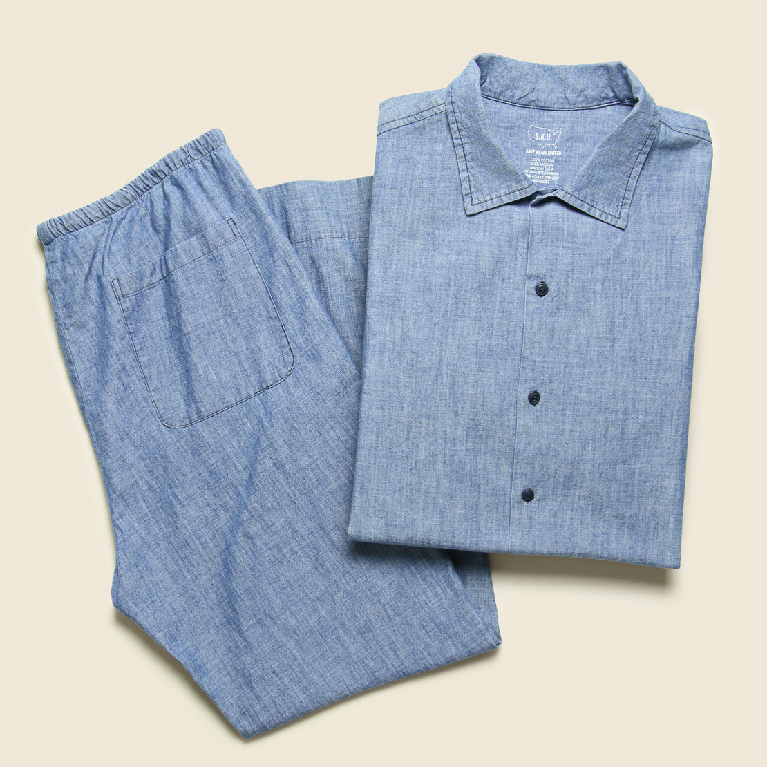 Haven Shirt - Chambray
