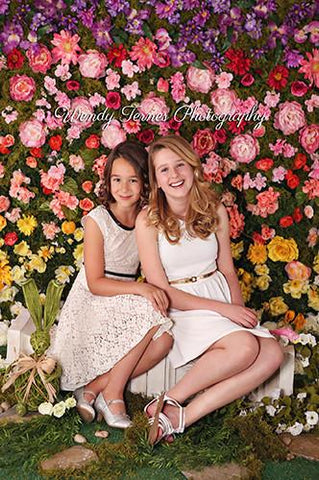 Printed Rose Flower Backdrop - 6127