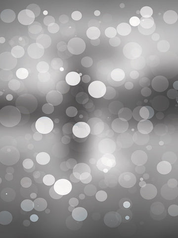 Grayscale Bokeh Photo Background / 1443 - DropPlace