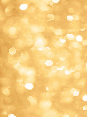 Golden Bokeh Printed Photo Background / 5001 - DropPlace