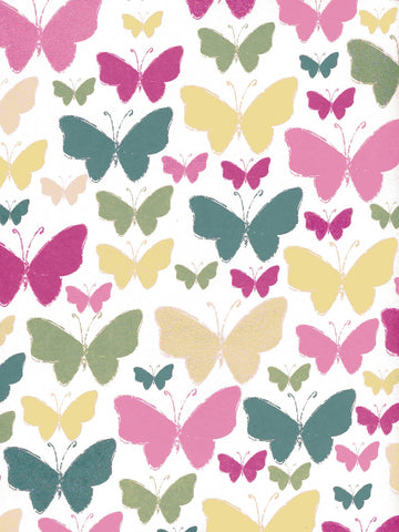 Butterflies Printed Photo Backdrop / 7252 - DropPlace