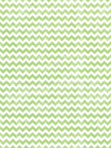 Distressed Lime Chevron Printed Photo Background / 9811 - DropPlace