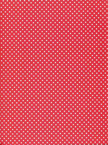 Red Dots Backdrop - 3537
