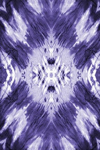 Tie Dye Purple Wash Printed Backdrop - 6233