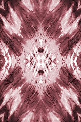 Tie Dye Red Maroon Wash Printed Background - 6234