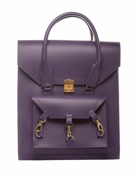 Medium Pelham Bag: Purple