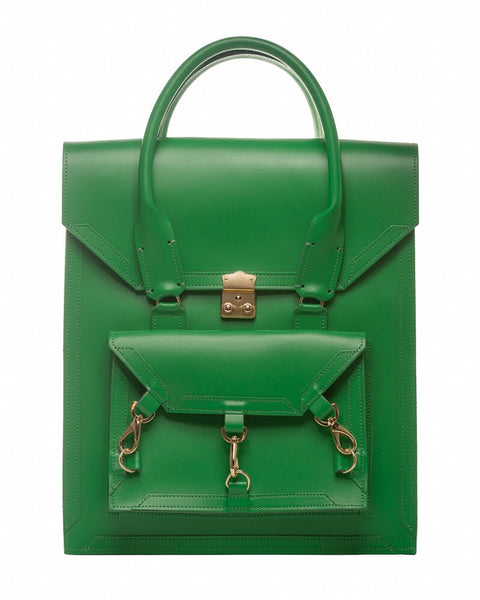 Medium Pelham Bag: Green