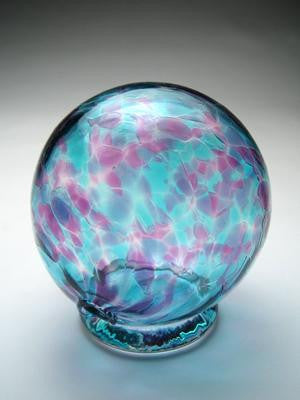 Blue Violet Wishing Ball and Gratitude Globe