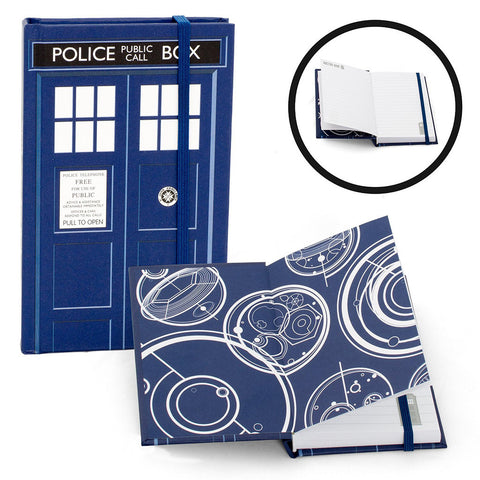 "Doctor Who 3.5"" x 5.5"" Mini Notebook TARDIS -  -  Little British Shop"