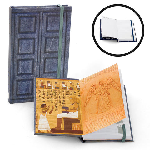 "Doctor Who 3.5"" x 5.5"" Mini Journal Weeping Angel and River Song -  -  Little British Shop"