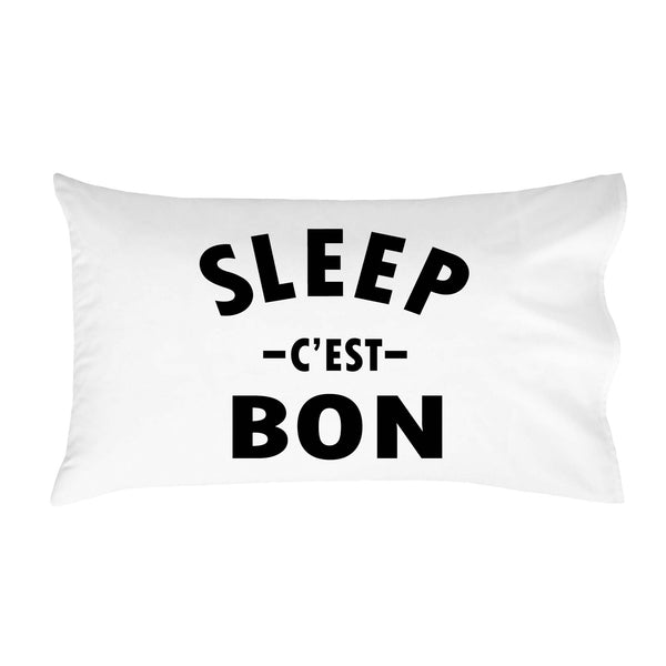 "Sleep c'est Bon 14"" x 20"" Toddler Pillow Cover"