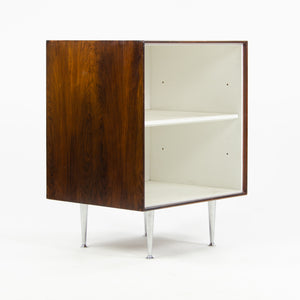 1950's George Nelson Herman Miller Thin Edge Rosewood Night Stand Cabinet