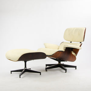 1960's Vintage Herman Miller Eames Lounge Chair & Ottoman 670 671