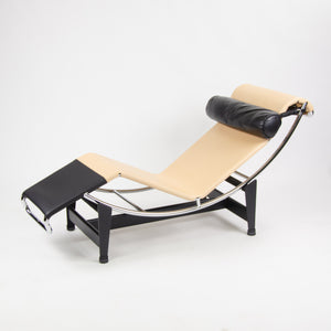 Cassina Louis Vuitton Le Corbusier LC4CP Chaise Lounge Chair Limited Edition NOS