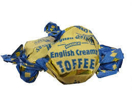 Walkers' English Creamy Toffee - 500 Grams