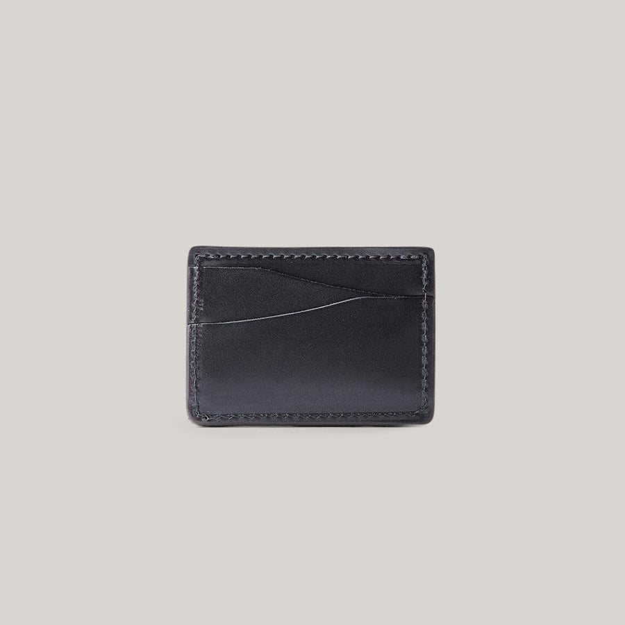 TANNER GOODS JOURNEYMAN WALLET - BLACK