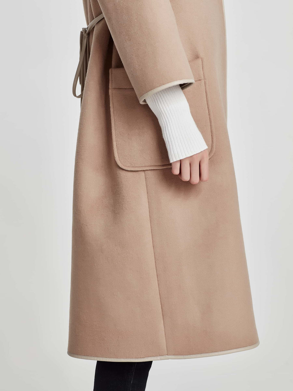 Shae Coat (Double Faced Wool) Camel