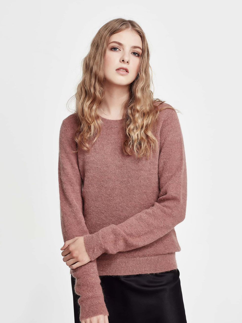 Joe Mohair Sweater (Mohair) Rosewood