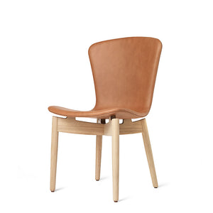 Shell Dining Chair - Ultra Brandy Leather - Mater - Do
