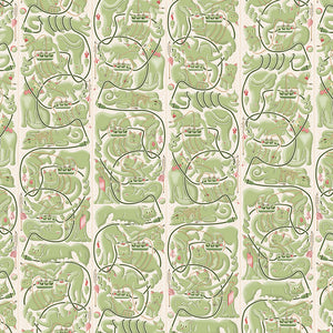 Cats & Cords Wallpaper by Erik Van Der Veen - Geometrics - NLXL - Do Shop