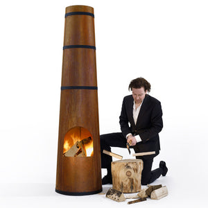 Smokestack Fireplace - Frederik Roije - Do Shop