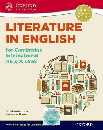Literature In English For Cambridge International AS & A Level Paperback