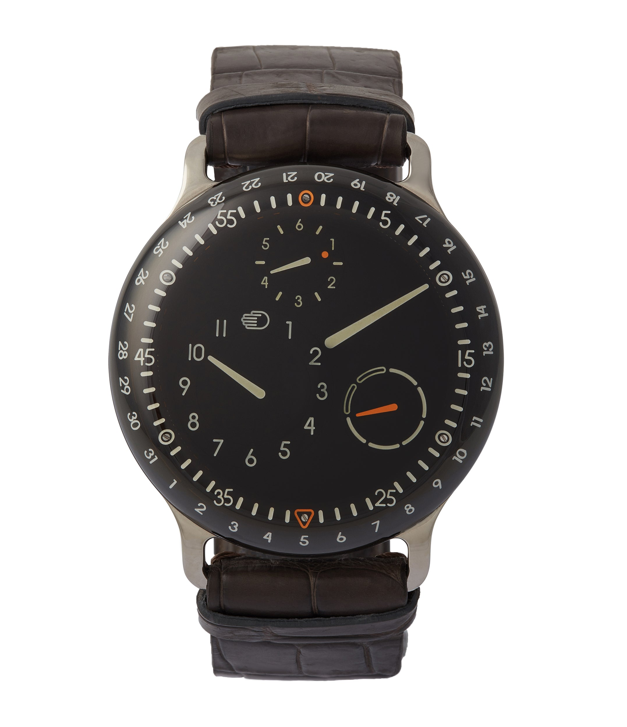 buy Ressence Type 3B oil-filled dial rare sports watch for sale online at A Collected Man London UK specialist of independent watchmakers