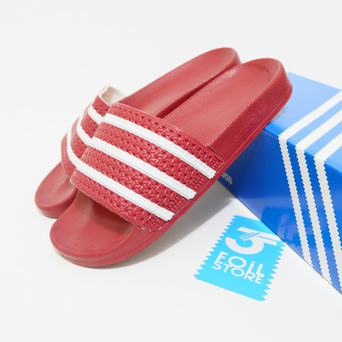 Adidas Adilette Red List White BNIB - Size Complete