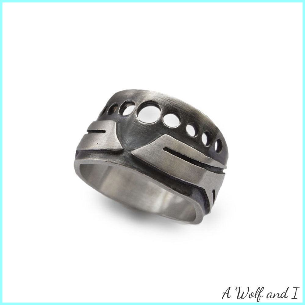 'Hot Rod' Ring Sterling Silver