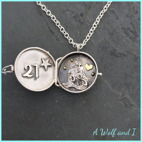 Mermaid locket