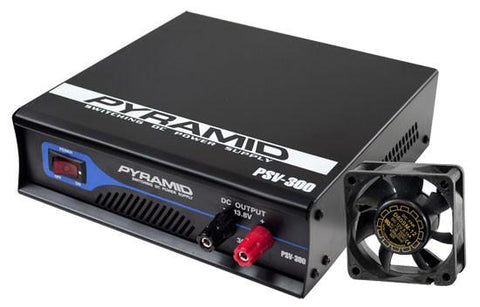 Pyramid (Psv300) Fully Regulated Low Ripple 30-Amp Switching Dc Power Supply - Outputs: 13.8Vdc