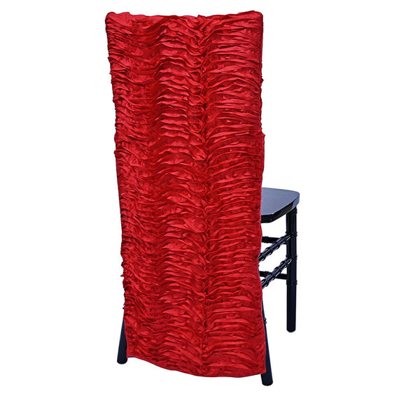 Austrian Wave Chair Back - Red
