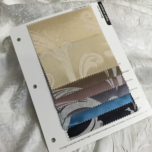 Regal Jacquard (Double-Sided) Color Card