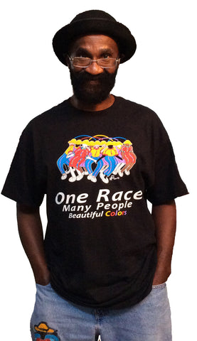 One Race-Many People- Beautiful Colors (Child/Adult)