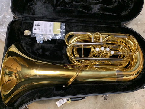 What's On My Bench? A Jupiter 1110 BBb Tuba!