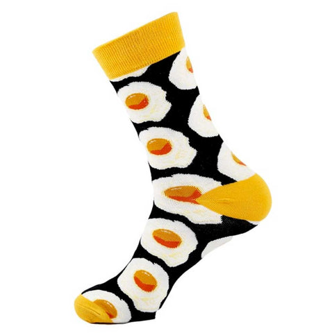 Fried Eggs Men's Socks at Well Done Goods