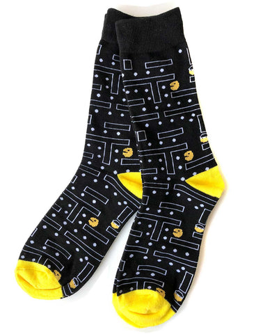 Pac-Man 80s Arcade Men's Socks