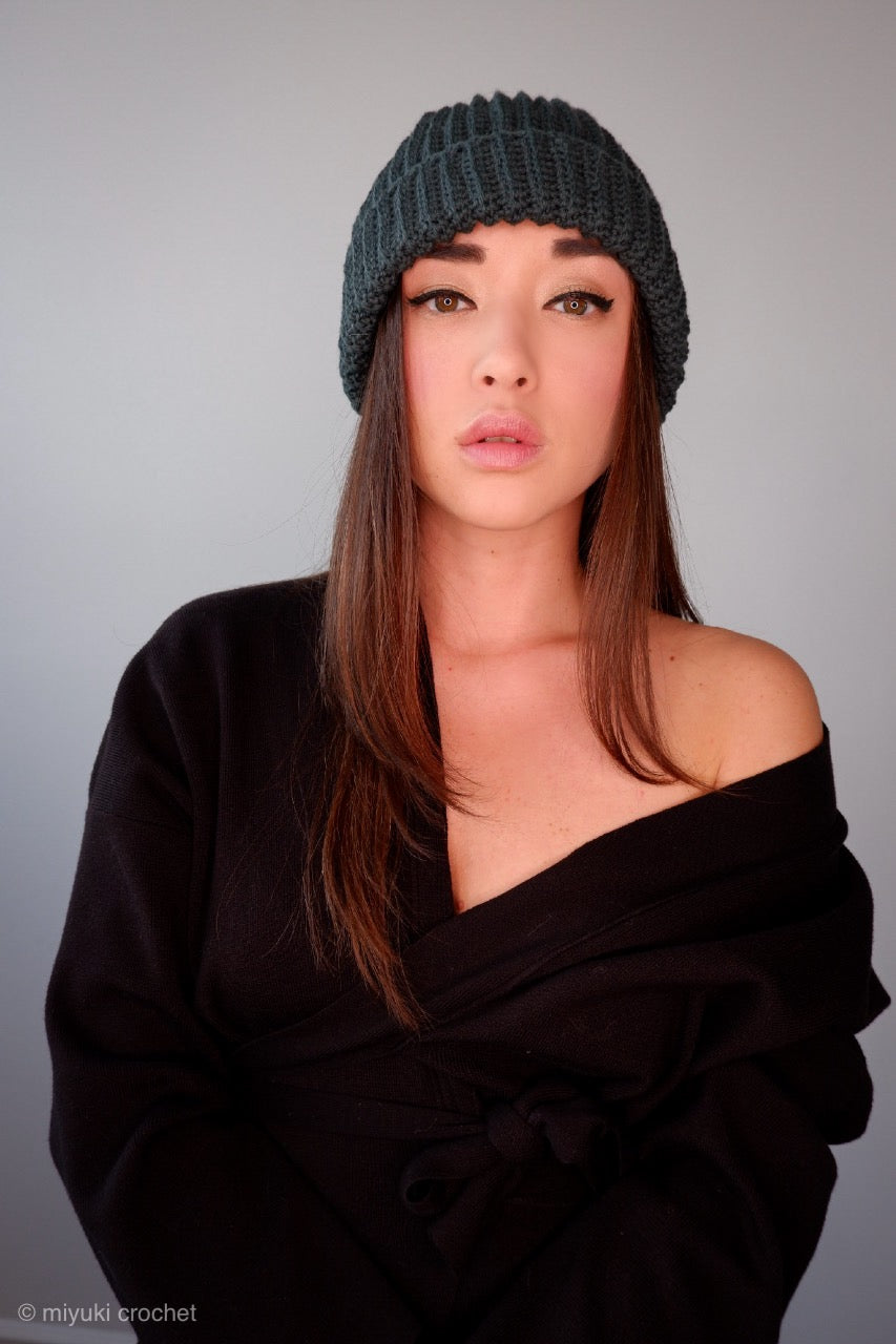 handmade wool unisex hat super cozy all natural