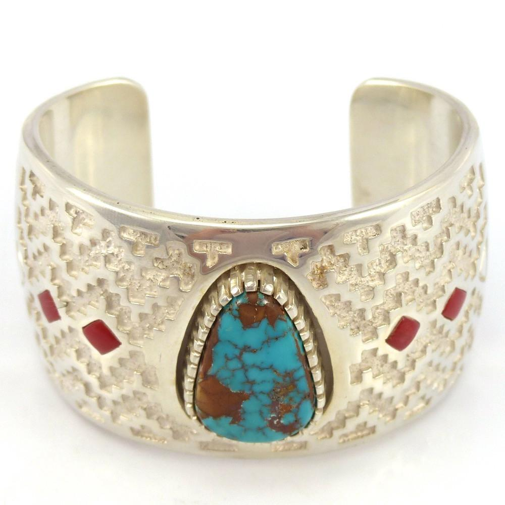 Pilot Mountain Turquoise Cuff, Michael Perry, Jewelry, Garland's Indian Jewelry