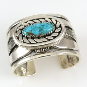 Number Eight Turquoise Cuff - Jewelry - Allison Lee - 1