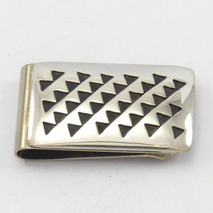 Trickling Water Money Clip