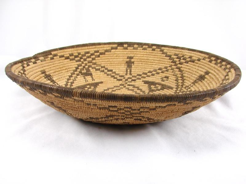 Historic Apache FIgured Plaque - Baskets - Vintage Collection - 1