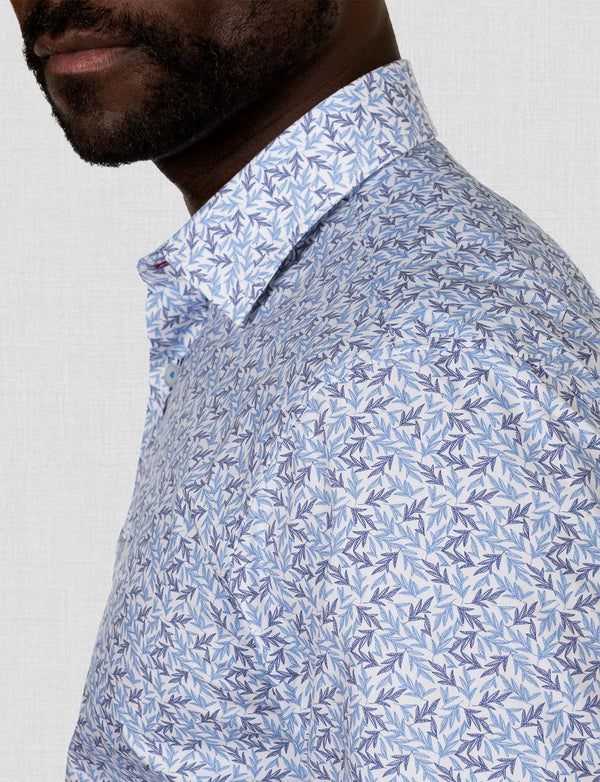 Oakes Leaf Print Shirt