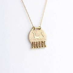 Gold Mythic Animal Necklace