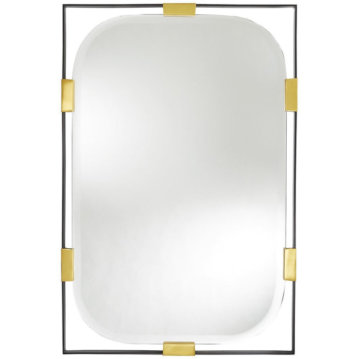 Arteriors Frankie Rectangular Mirror - Gold