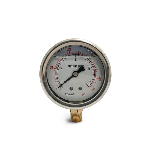 Oil Fuel Pressure Gauge